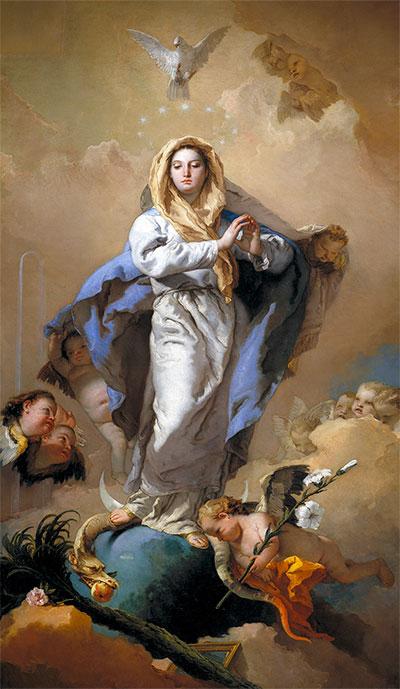 Inmaculada Concepción de Giovanni Battista Tiepolo