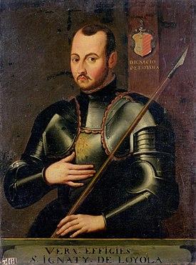 Ignacio de Loyola,como soldado