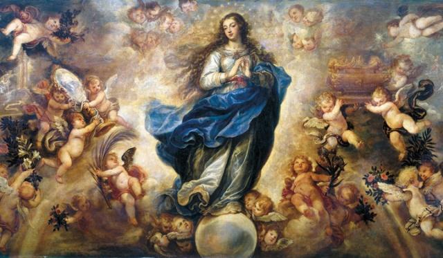 Inmaculada Concepción de Francisco Rizzi (Museo de Cádiz)