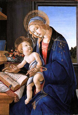 Virgen del libro, de Sandro Botticelli