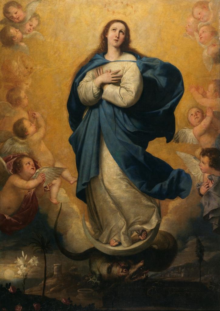 La Inmaculada Concepción, de José de Ribera (Museo del Prado)