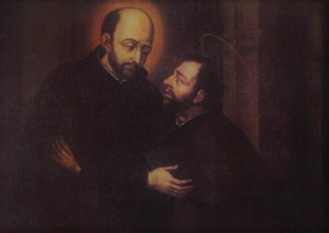 San Ignacio de Loyola y San Francisco Javier
